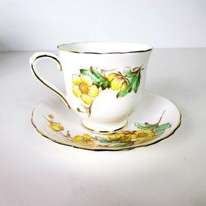 Vintage Victoria C&E Buttercup Teacup